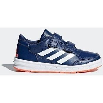 Chaussures Enfant Ville basse adidas Originals Altasport CF K Bleu-Bleu marine