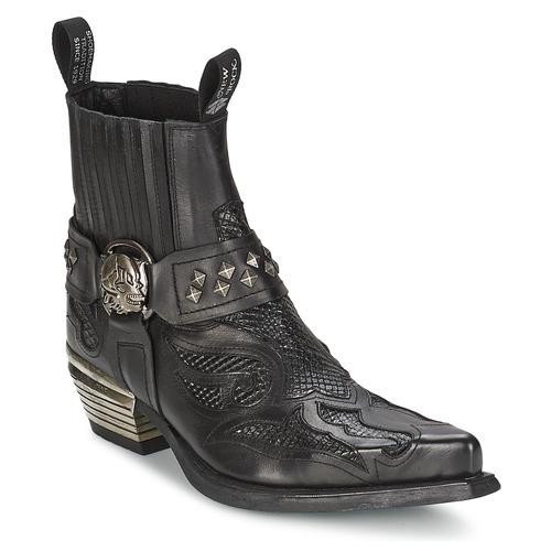 Bottines / Boots New Rock PRETO Noir 350x350