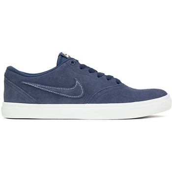 Chaussures Homme Baskets basses Nike CHECK SOLAR SB bleu