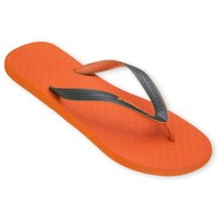 Chaussures Homme Tongs Amazonas Tongs Fun Colors Orange et Kaki ORANGE