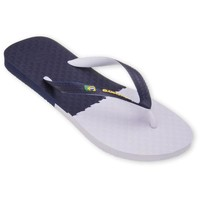 Chaussures Homme Tongs Amazonas Tongs Fun Brasil Marine et Blanc MARINE