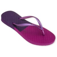 Chaussures Femme Tongs Amazonas Tongs Fun Colors Violet et Rose VIOLET