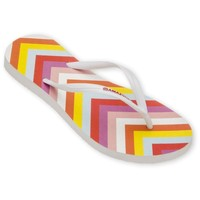 Chaussures Femme Tongs Amazonas Tongs Enjoy Flip Flop Pop Blanc BLANC