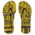 Amazonas Tongs Enjoy Flip Flop Tribo Jaune et Noir