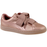 Chaussures Femme Baskets basses Puma Basket Heart Copper 365463-01