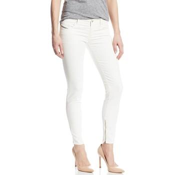 Vêtements Femme Jeans skinny Diesel GRUPEE ZIP 0605J Blanc