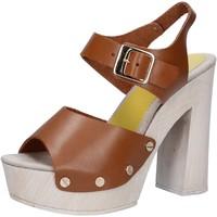 Chaussures Femme Sandales et Nu-pieds Suky Brand sandales marron cuir AC482 marron