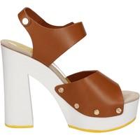 Chaussures Femme Sandales et Nu-pieds Suky Brand sandales marron cuir AC483 marron