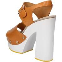 Chaussures Femme Sandales et Nu-pieds Suky Brand sandales marron cuir AC485 marron