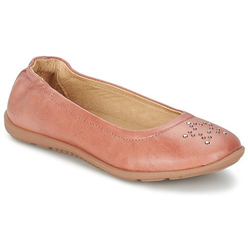 Chaussures Fille Ballerines / babies Mod'8 OLIVIA Pêche