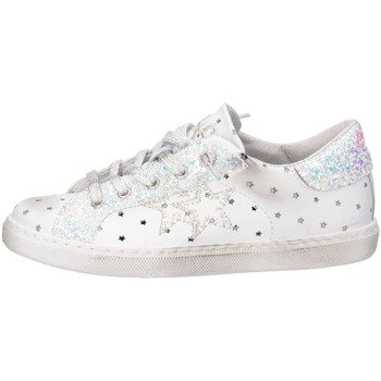 Chaussures Fille Baskets basses 2 Stars 2SB1114 Blanc