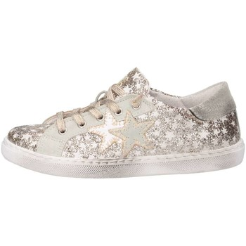 Chaussures Fille Baskets basses 2 Stars 2SB1149 Basket Enfant Or Or