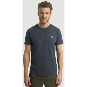 Vêtements Homme T-shirts manches courtes Chevignon Tshirt Manches courtes straight col rond NAVY CHINE