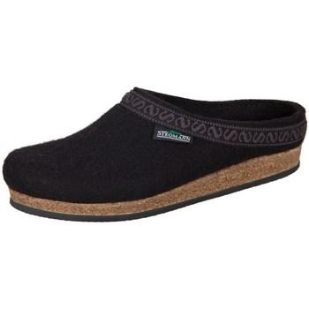 Chaussures Femme Chaussons Stegmann Black Wollfilz Noir