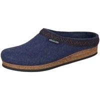 Chaussures Femme Chaussons Stegmann Jeans Wollfilz Bleu marine