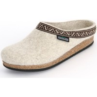 Chaussures Femme Chaussons Stegmann Natur Wollfilz Beige