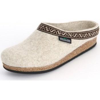 Chaussures Femme Chaussons Stegmann Natur Wollfilz