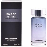 Beauté Homme Eau de toilette Karl Lagerfeld Bois De Vétiver Edt Vaporisateur  100 ml