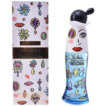 Beauté Femme Eau de toilette Love Moschino So Real Cheap & Chic Edt Vaporisateur  50 ml