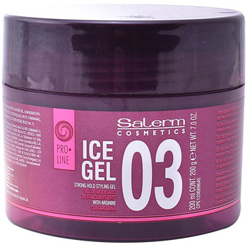 Beauté Soins & Après-shampooing Salerm Ice Gel 03 Strong Hold Styling Gel