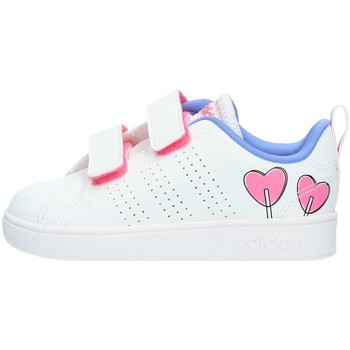 Chaussures Fille Baskets basses adidas Originals DB1935 Basket Fille White White