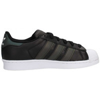 Chaussures Garçon Baskets basses adidas Originals Superstar Junior - Ref. CQ2688 Noir