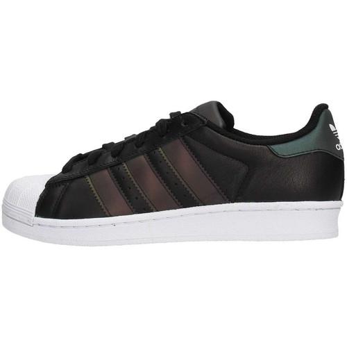 Chaussures Garçon Baskets basses adidas Originals Superstar Junior - Ref. CQ2688 Noir