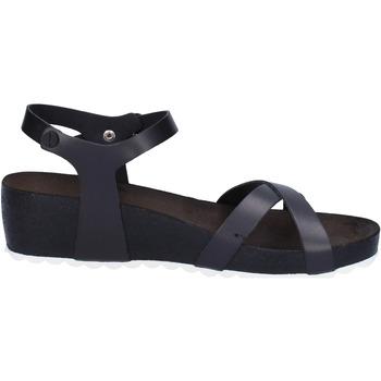Chaussures Femme Sandales et Nu-pieds 5 Pro Ject sandales noir cuir blanc AC700 noir