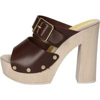 Chaussures Femme Sandales et Nu-pieds Suky Brand sandales marron cuir AC764 marron