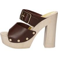 Chaussures Femme Sandales et Nu-pieds Suky Brand sandales marron cuir AC765 marron
