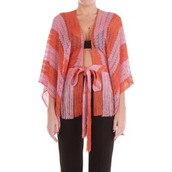 Vêtements Femme Pulls Missoni MD194046 Pull-over Femme Orange et rose Orange et rose