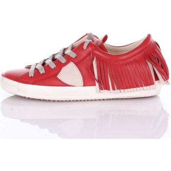 Chaussures Femme Baskets basses Philippe Model Paris CLLDFL04 Sneakers Femme Rouge Rouge