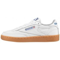 Chaussures Homme Baskets basses Reebok Sport Chaussures  Club C 85 Gum - White /  Royal / Flat Grey Gum blanc