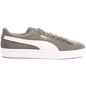 Chaussures Homme Baskets basses Puma BASKET SUEDE CLASSIC + VERT