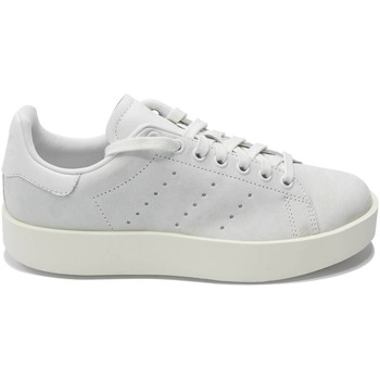 Chaussures Femme Baskets basses adidas Originals BASKET STAN SMITH BOLD BLANC