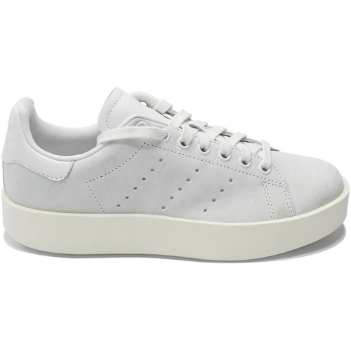 adidas Originals BASKET STAN SMITH BOLD BLANC - Chaussures Baskets basses Femme