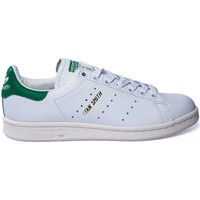 Chaussures Femme Baskets basses adidas Originals BASKET STAN SMITH BLANC/VERT