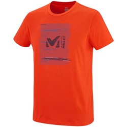 Vêtements Homme T-shirts manches courtes Millet Rise Up Ts Ss Orange