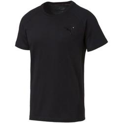Vêtements Homme T-shirts manches courtes Puma T-shirt  T-shirt Evostripe Move noir