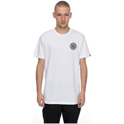 Vêtements Homme T-shirts manches courtes DC Shoes CAMISETA  SKATE CIRCLE Blanc