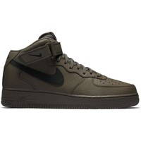 Chaussures Homme Baskets montantes Nike ZAPATILLAS  AIR FORCE 1 MID 07 Marron