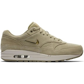 Nike ZAPATILLAS  AIR MAX 1 PRM SC Beige - Chaussures Baskets basses Homme