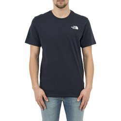 Vêtements Homme T-shirts manches courtes The North Face tee shirt  2tx5 simple dome bleu bleu
