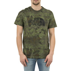 Vêtements Homme T-shirts manches courtes The North Face tee shirt  2tx3 easy vert vert