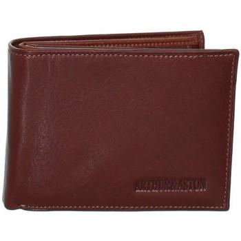 Sacs Portefeuilles Arthur & Aston Porte-cartes Arthur et Aston en cuir ref_ast42575 Marron clair
