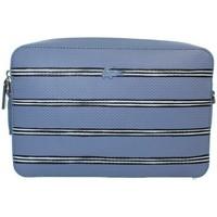 Sacs Femme Sacs Bandoulière Lacoste Sac porté travers  square crosssover bag en Bleu