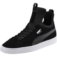 Chaussures Femme Baskets mode Puma W. SUEDE FIERCE Noir