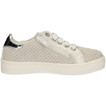 Chaussures Fille Baskets basses Asso 61707 Sneakers Enfant Blanc Blanc
