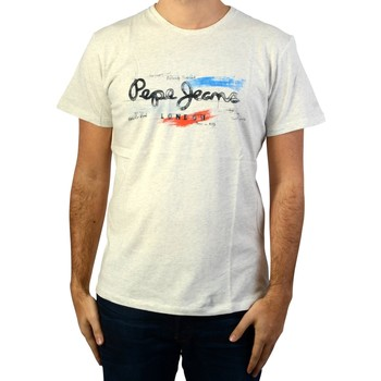 Vêtements Homme T-shirts & Polos Pepe jeans Tee-shirt  Abad Beige