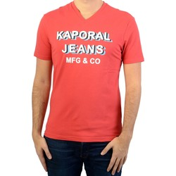Vêtements Homme T-shirts & Polos Kaporal Tee-shirt  Loly Rouge